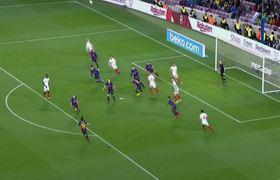 Lionel Messi Goal - Sevilla vs Barcelona
