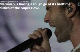 #Maroon5 To Perform SpongeBob Song At #SuperBowl Halftime