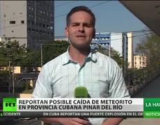 Meteorito cae en la provincia cubana de Pinar del Río