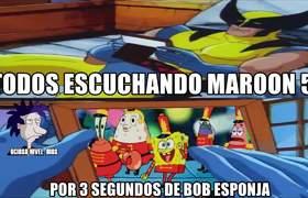 BOB ESPONJA SUPER BOWL 2019 MEMES | MAROON 5 DECEPCIONA ESPECTÁCULO DE MEDIO TIEMPO