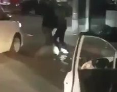 Driver assaults with bat driver in Tijuana and barked take advantage to steal car