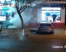 #CCTV: Boy saves himself from dying in stunning explosion in Mongolia