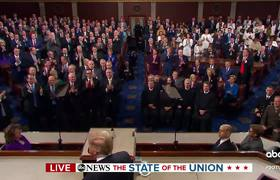 Donald Trump address the nation in State of the Union