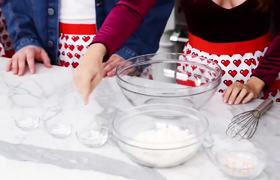 Rosanna Pansino Baking Cakes with The Try Guys!