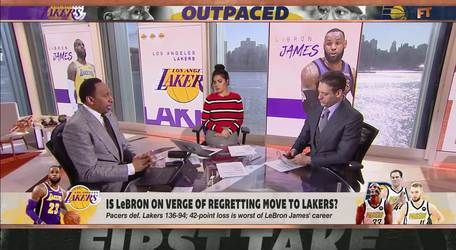 Does LeBron regret joining the Lakers?
