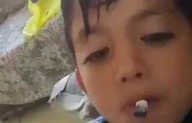 #VIRAL: Caiusa indiganción niño fumando marihuana