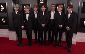 BTS on the Red Carpet | 2019 GRAMMYs