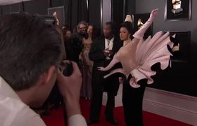 2019 GRAMMYs - Cardi B on the Red Carpet |