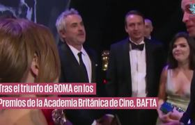 Prince Williams congratulates Yalitza and Marina for the film ROMA