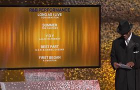 2019 GRAMMY: Daniel Caesar & H.E.R. Win Best R&B Performance | s Acceptance Speech