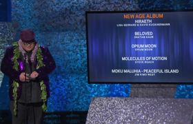 2019 GRAMMYs: Opium Moon Wins Best New Age Album | Acceptance Speech