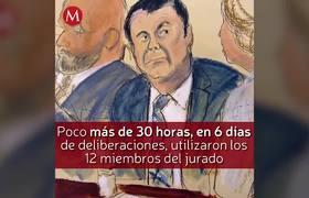 El Chapo Guzman: Culpable y sentenciado a cadena perpetua