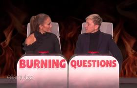 Ellen: Jennifer Lopez Answers Ellen's 'Burning Questions'