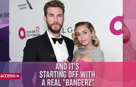 El travieso mensaje de Miley Cyrus por San Valentin a Liam Hemsworth