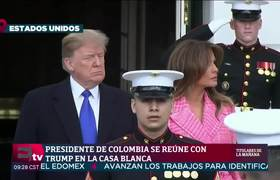 President of Colombia meets with Donald Trump, with an eye on Venezuela