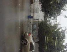 Fuertes vientos y lluvia en Tijuana