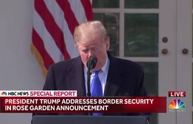 Trump Declares National Emergency To Secure Border Wall Funding
