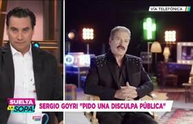 Sergio Goyri se disculpa por palabras contra Yalitza Aparicio