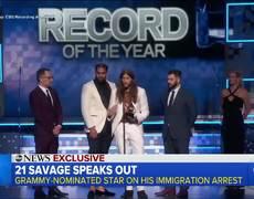 GMA - Rapper 21 Savage fears deportation after #ICE arrest