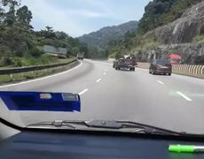 #VIRAL: Bus Chassis Driving down Highway