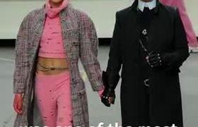 Fashion icon and designer #KarlLagerfeld dies