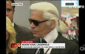 Muere Karl Lagerfeld, el mundo de la moda pierde a uno de los grandes