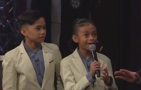 The Late Late Show: Ariana Grande Surprises TNT Boys f/ 'The World's Best'