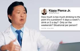#OMG: Ken Jeong Answers More Medical Questions From Twitter