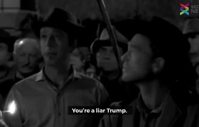 Un episodio de un show de los años 50´s tiene a una personaje llamado Trump quien busca construir un muro