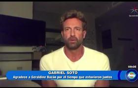Gabriel Soto e Irina Baeva le piden perdón a Geraldine Bazán