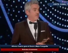 Alfonso Cuarón gana el Oscar a Mejor Fotografía por Roma