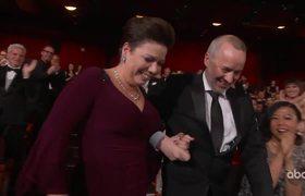 BOHEMIAN RHAPSODY Accepts the Oscar for Sound Editing