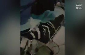 Realizan cirugía con luz de celulares por apagón en hospital de Villahermosa, Tabasco