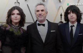 No deberías burlarte de las caras que hizo el hijo de Alfonso Cuarón en los Oscar