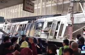 #Egypt: Crash and fire at Cairo's train station kills at least 20