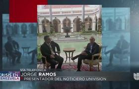 Primeras declaraciones de Jorge Ramos tras ser liberado de Venezuela