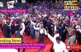 #VIRAL: Alph Lukau Zimbabwean Dead Man Dance And Statement