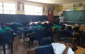 #ResurrectionChallenge in School