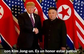 Trump, de nuevo con Kim Joung-Un:
