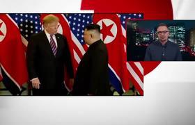 Trump and Kim Jong-un meet ahead of second summit