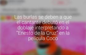 """Molestan a Marco Antonio Solís por haber """"matado"""" al papá de la abuela Coco"""