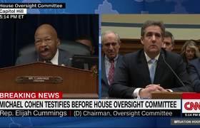 Cohen acusó a Trump de haber cometido delitos en campaña