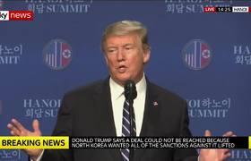 Trump: Michael Cohen solo mintio 95% - estoy impresionado