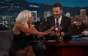 "JKL: Lady Gaga on Oscar Win & Being ""In Love"" with Bradley Cooper"