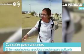 #VIRAL: Enfermera inventa graciosa canción para aplicar vacunas