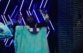 THE MASKED SINGER - You Won't Believe Who Is Under The Monster Mask! | Season 1 Ep. 10 |