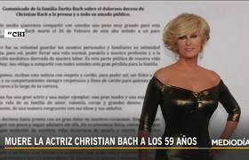 Christian Bach: sus inicios como actriz