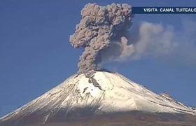 Explosión de volcán Popocatépetl pone en alerta a 7 alcaldías