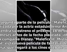 Disney advances seven months premiere of Maleficent 2