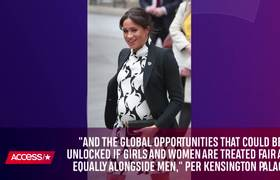 Meghan Markle Gets Real On International Women's Day